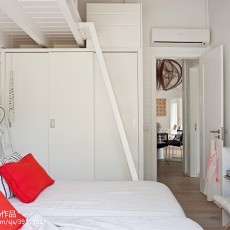 144平米四居卧室混搭实景图片欣赏