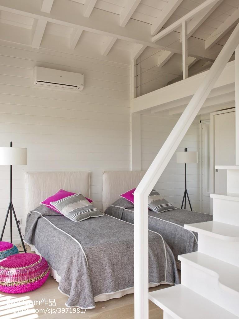 热门面积142平混搭四居卧室装修效果图片