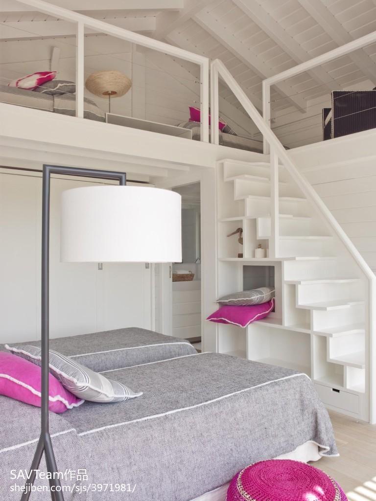 混搭四居卧室装修效果图片欣赏
