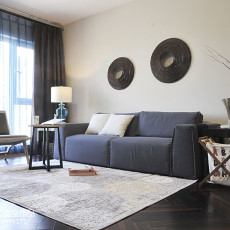 2018精选70平米二居客厅现代装修设计效果图片大全