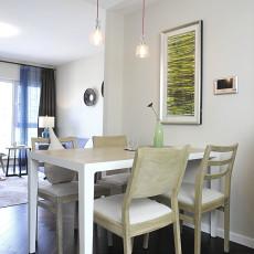 精选面积90平现代二居餐厅效果图片欣赏