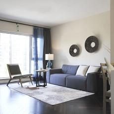 热门面积72平现代二居客厅装饰图片欣赏