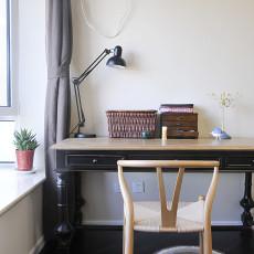精美83平米二居书房现代装修实景图