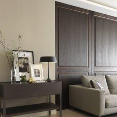 热门108平客厅三居现代装修实景图片欣赏