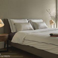 明亮85平现代三居卧室设计效果图