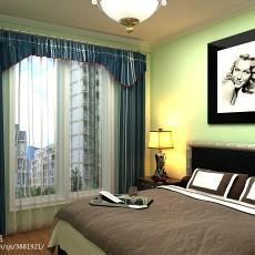 精美面积85平现代二居卧室装饰图