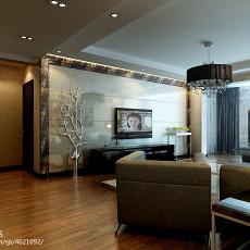 100平米三居客厅现代装修设计效果图片欣赏