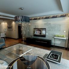 面积90平现代三居客厅装饰图