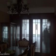 热门100平米三居餐厅欧式装修效果图片