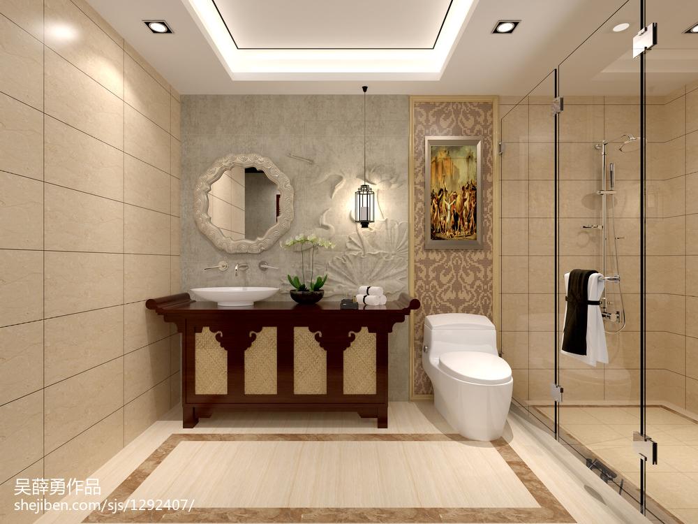 中式家居风卧室设计