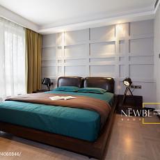 精美105平方三居卧室现代效果图