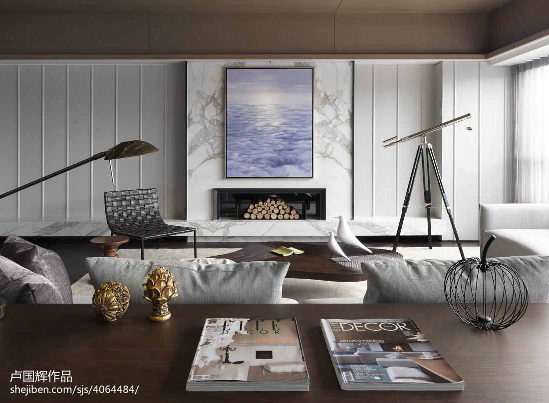 85.5平精美客厅现代装修设计效果图