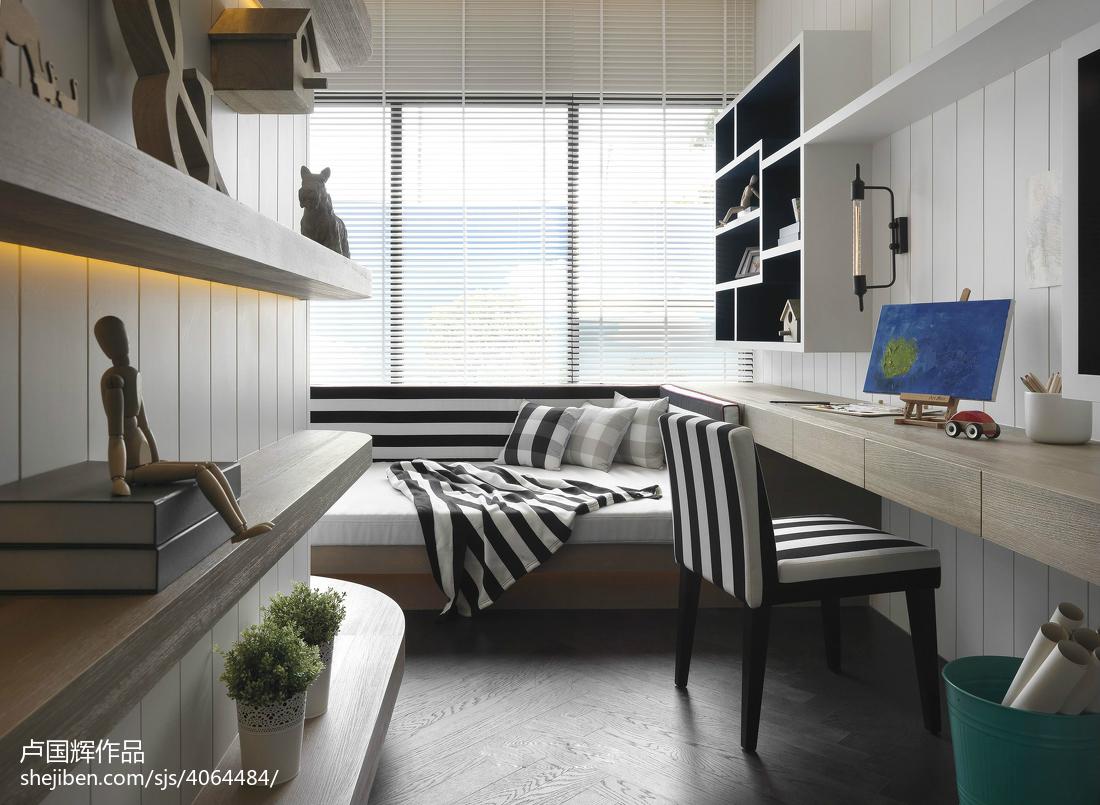 卧室现代装修设计效果图片