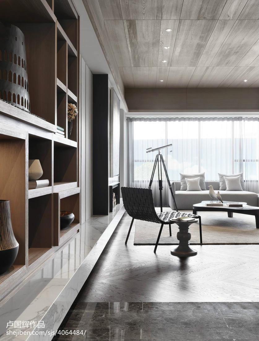 85.8平热门客厅现代装修效果图片