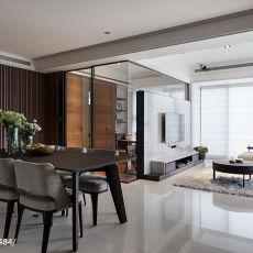 94平米三居餐厅现代装修设计效果图片欣赏