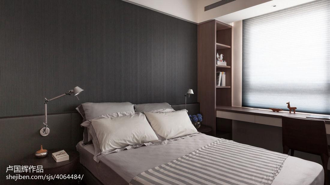 精选107平方三居卧室现代装饰图片