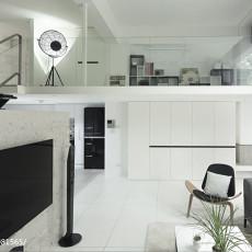 精选99平米三居客厅现代装修实景图片