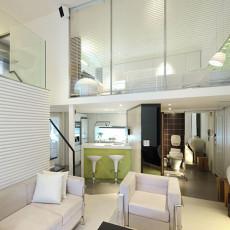 精美面积105平现代三居客厅装修图片