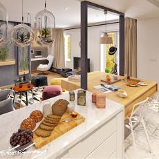 热门77平米现代小户型客厅实景图片大全