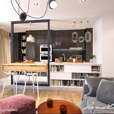 热门73平米现代小户型客厅欣赏图片大全