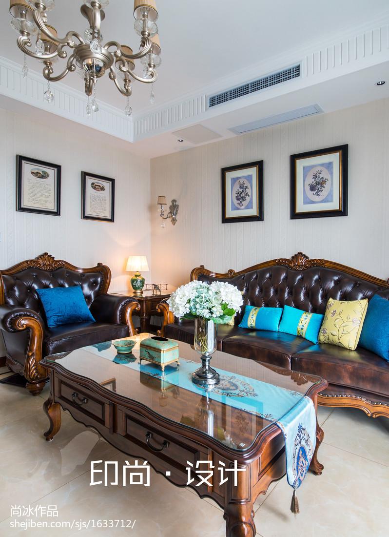 精美142平米欧式复式客厅效果图片大全