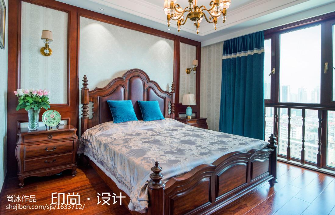 精美143平米欧式复式卧室实景图