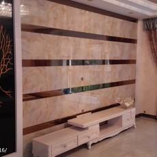 精选99平方三居客厅现代装修实景图片欣赏