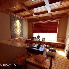 热门面积141平别墅休闲区美式装修设计效果图