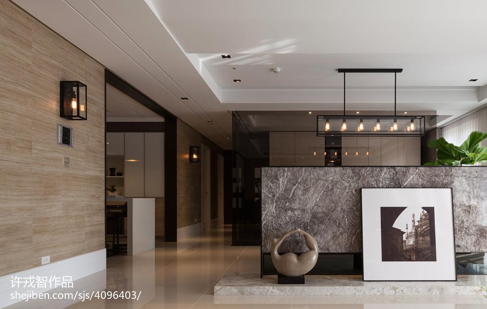 2018精选117平方四居客厅混搭装修效果图