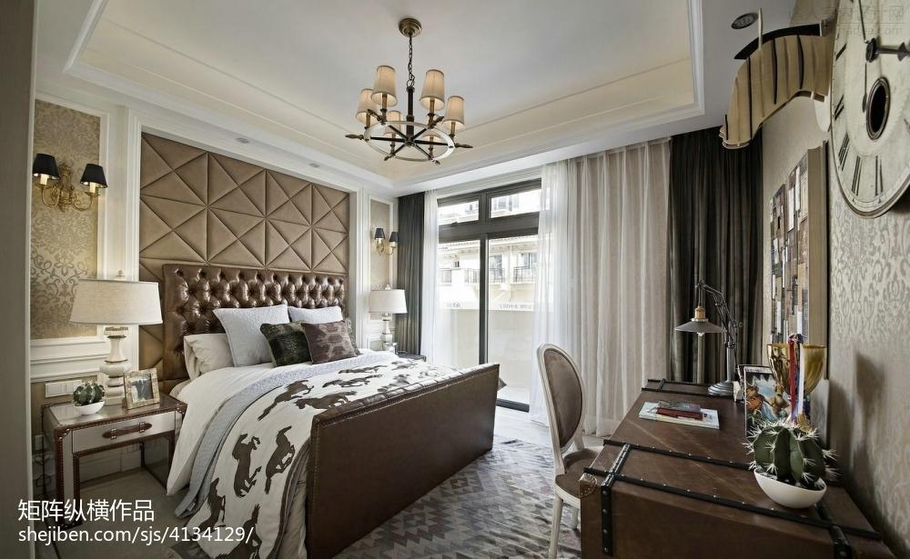 102.9平热门混搭卧室装修设计效果图片大全
