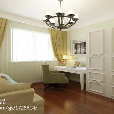 美式二居卧室装修实景图片欣赏