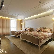 201899平方三居卧室混搭装修效果图片大全
