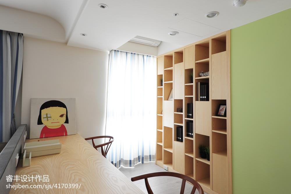 书房书柜书桌