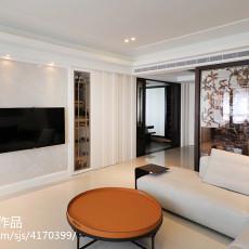 精美79平方二居客厅混搭装饰图片大全