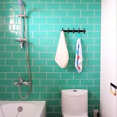 精选面积80平混搭二居卫生间装修实景图片大全