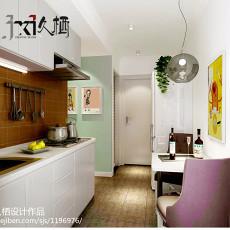 热门面积71平小户型客厅现代装修实景图片大全