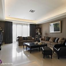 2018精选面积139平新古典四居客厅装修欣赏图