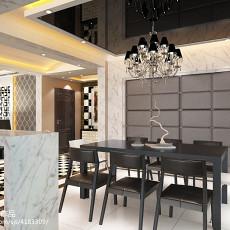 2018精选119平米四居餐厅现代装饰图