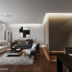72.0平精美客厅混搭效果图片欣赏