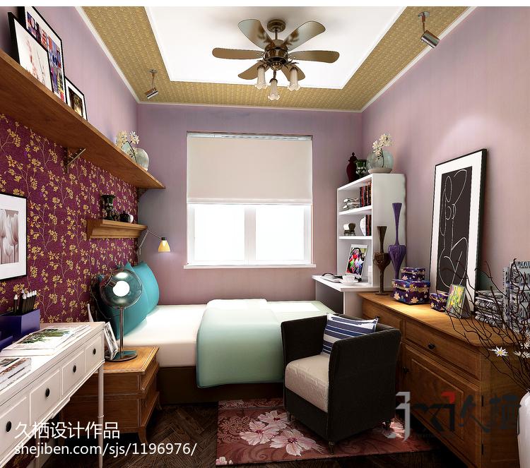 热门小户型卧室现代装修图