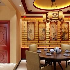 热门三居餐厅中式实景图