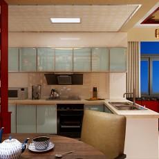 2018三居厨房中式装修图片欣赏