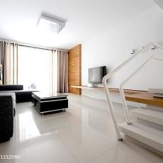 精美93平大小客厅三居现代装修效果图片