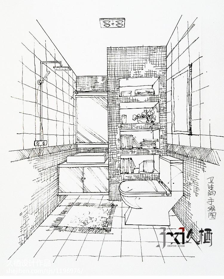 2018现代小户型卫生间装饰图片