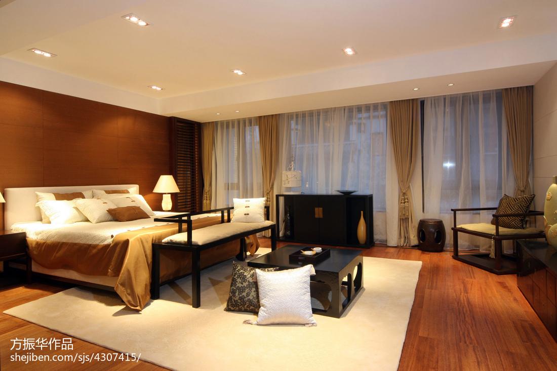 精美卧室中式装修欣赏图