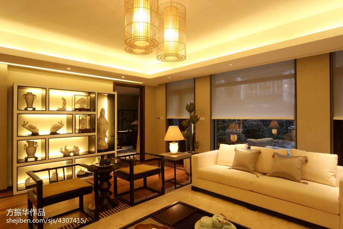 精选中式客厅装修图片欣赏