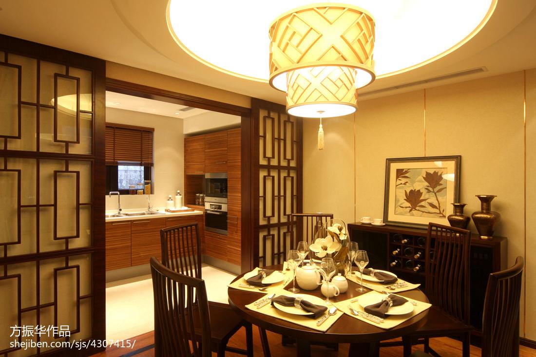 中式餐厅装修实景图片