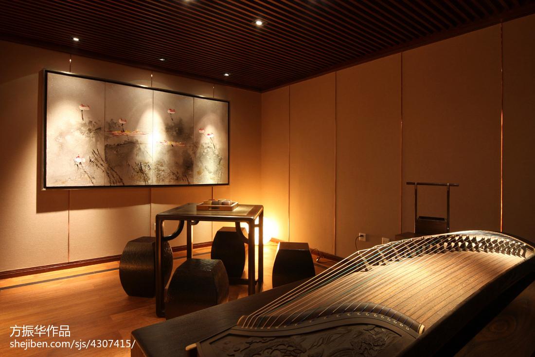 中式休闲区装修设计效果图片大全