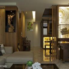 2018面积134平中式四居客厅装修欣赏图