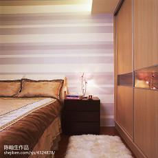 2018精选大小96平现代三居卧室实景图片大全